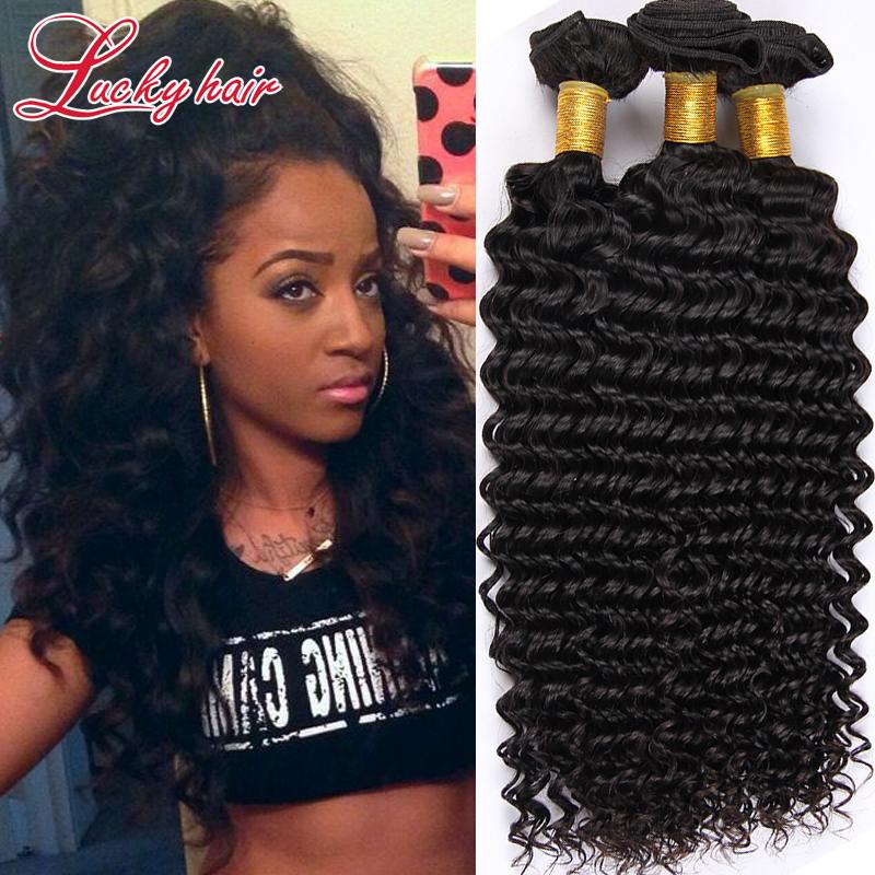Mld Hair Brazilian Virgin Hair Deep Wave Curly Fast Shipping Cheap 3 Bundles Human Hair Deep Curly Brazilian Hair Extensions 3PC<br><br>Aliexpress
