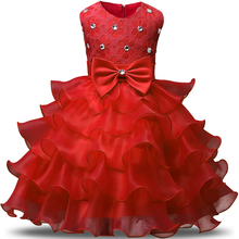 Buy New Formal Children Ball Gown Baby Girl Clothing Wedding Princess Party Dress Girls Clothes Prom Kids Dresses Summer Size 6 7 8 for $9.98 in AliExpress store