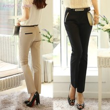 S- L casual OL pants New 2014 spring summer trousers plus size harem pants women slim formal trousers Free Shipping b6 (China (Mainland))