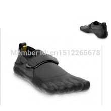 Черный цвет вфф 5 пальцы мужские ксо спорт вода обувь дайвинг йога улице ходить босиком обувь