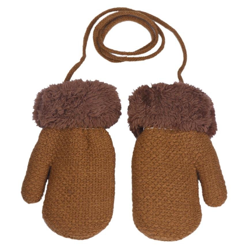 Fashion cute winter Baby Boy gloves full finger kids mittens Leaf Warm Cotton Acrylic fibres Gloves children mittens glove 082(China (Mainland))