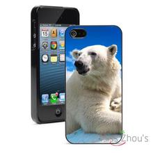 Polar Bear Snow Blue Sky Protector back skins mobile cellphone cases for iphone 4/4s 5/5s 5c SE 6/6s plus ipod touch 4/5/6