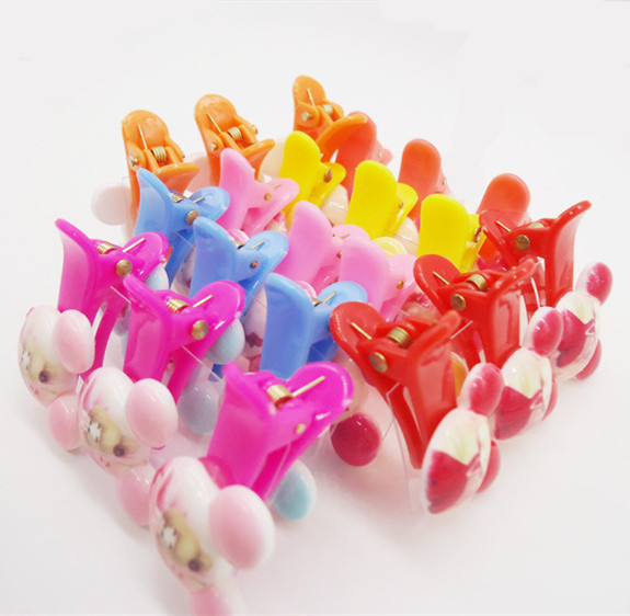3pcs scrunchy Girls Kids Cute candy colour Animal Cartoon Shape Hair Clip Headbands hairpins hairclip hair accessories headwear(China (Mainland))