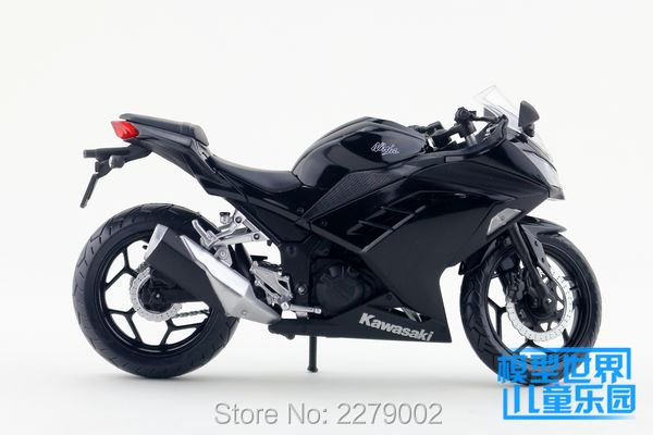 JOYCITY/1:12 Scale/Simulation Die-Cast model motorcycle toy/KAWASAKI Ninja 250/300 2014/Delicate children's toys or colllection