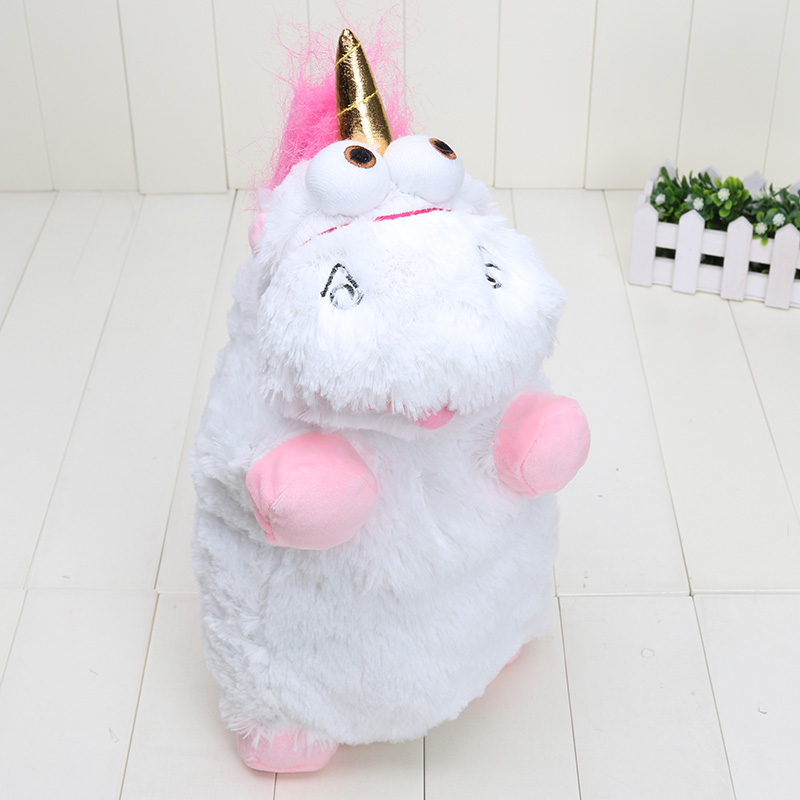 Despicable Me 40cm Despicable Me Fluffy Unicorn Plush Pillow Toy Doll cute Fluffy figure gift(China (Mainland))