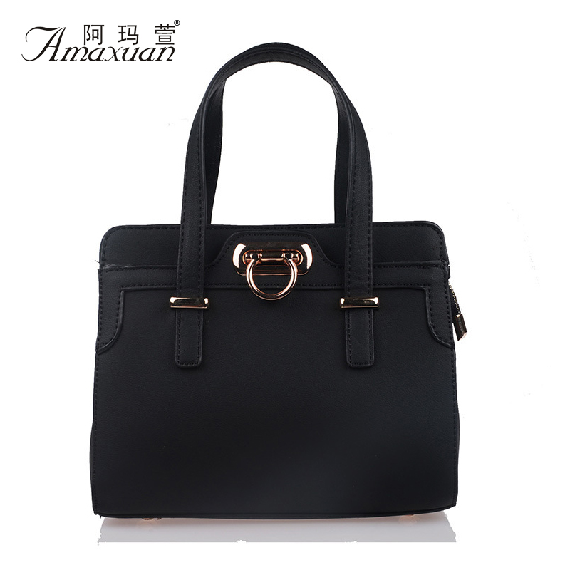 New 2015 Fashion Women Handbags PU Leather Shoulder Bag Women Vintage Wild Messenger Casual Tote Bolsa Feminina Women Bag BH1188<br><br>Aliexpress