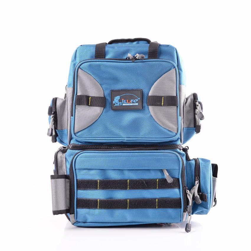 Multi-Purpose Fishing Bag fishing rod Multifunction Outdoor messenger bag fishing tackle fishing lure Bag(China (Mainland))