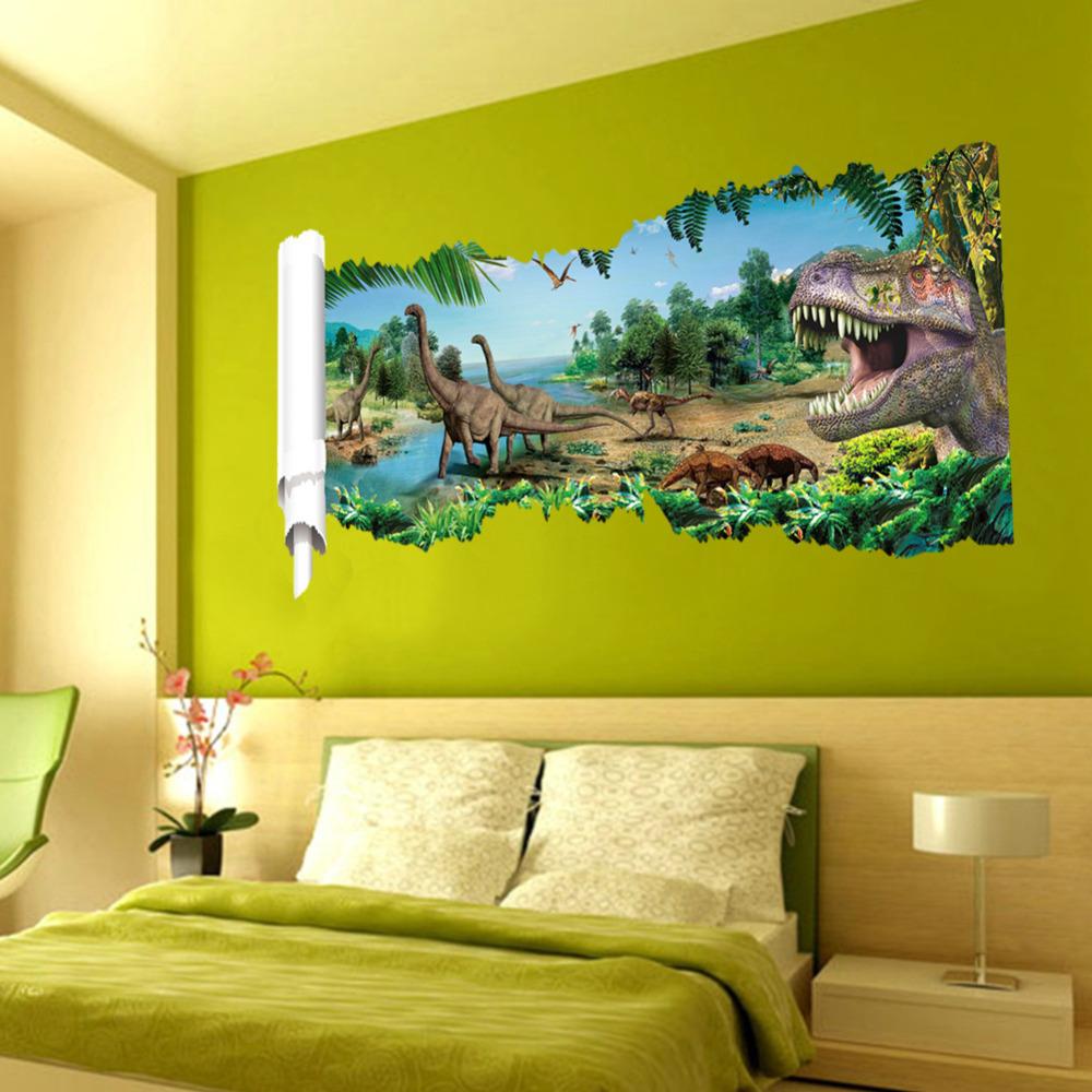 Aliexpress com Compre Dinossauro dos desenhos animados 3D