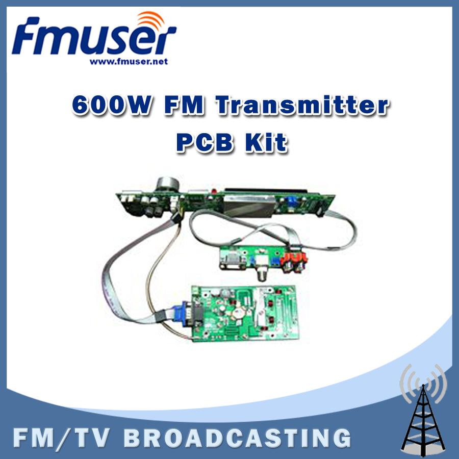 Free shipping FSN-600K 600W FM Transmitter PCB DIY Assemble Kit FM Radio Broadcast Kit<br><br>Aliexpress