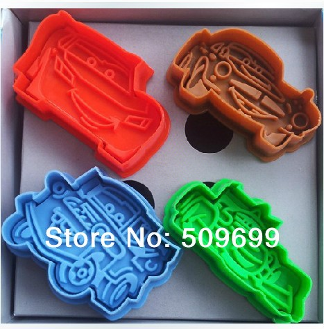 DIY 3D car Cookie mold/ cookie cutter/ cake mold/ cake decoration for baby party(China (Mainland))