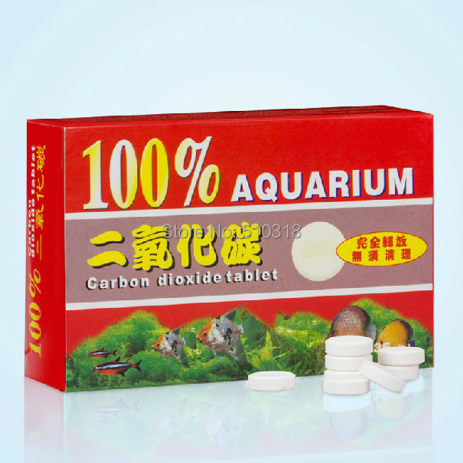 CO2 Tablet Carbon Dioxide 36 tablets For Aquarium Fish Tank Water Plant(China (Mainland))