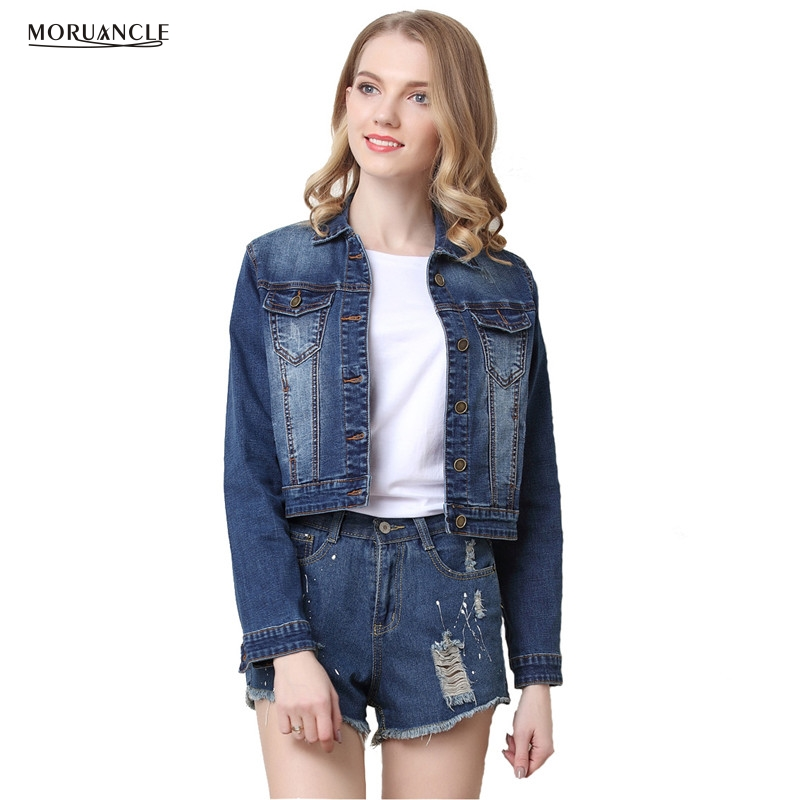 Popular Fitted Jean Jackets for Women-Buy Cheap Fitted Jean ...