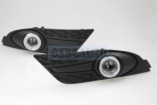 Modified car accessories daytime running lights for Ford Focus 2007-2008 angel eyes fog lights(China (Mainland))