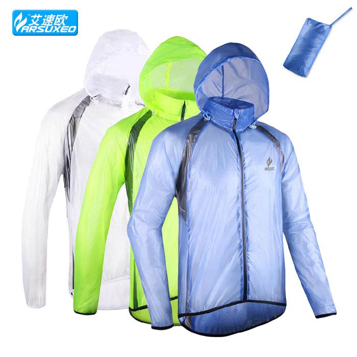 outdoor sports Waterproof Pack rain cycling bike bicycle running Jacket coat raincoat jersey windproof