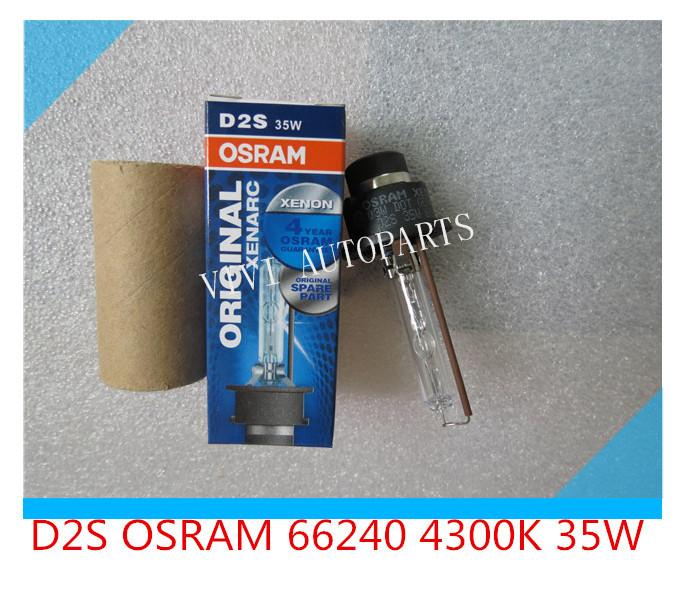 D2S Osram 66240 4300K 5500K 35W 12V Xenon Bulb Lamp Lighting Car Headlight for all cars(China (Mainland))