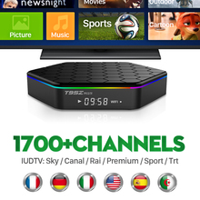 Buy T95ZPLUS Android TV Box Octa Core Free 1 year 1700 Arabic IPTV Europe Channels 2GB/16GB Smart TV STB WIFI H265 Media Player for $75.69 in AliExpress store
