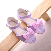 kids shoes New girls sandals in the summer 2016 children between han edition of bowknot girl princess cuhk children's shoes 4616