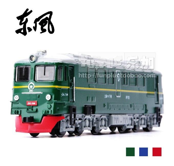 High Simulation Exquisite Model Toys: Car Styling Nostalgic Dongfeng ND2 Locomotive Lokomotiv 1:87 Alloy Trains Model Best Gifts(China (Mainland))