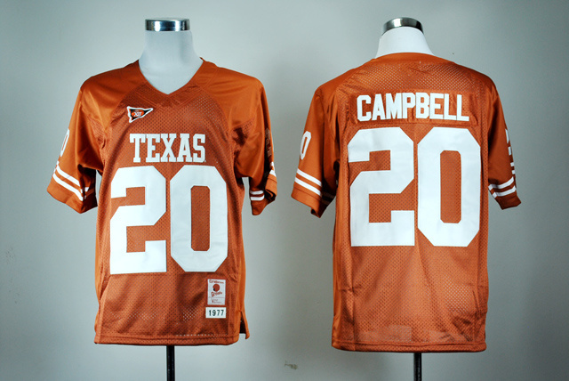 High Quality Nike Texas 34 Ricky Williams 20 Earl Campbell 10 Vince Young Oklahoma State 21 Barry Sanders College Jersey#7#8#34#(China (Mainland))