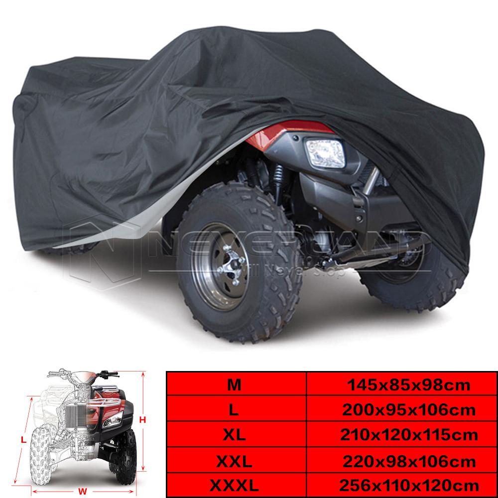 Black Universal 190T font b Motorcycle b font font b Waterproof b font font b Cover