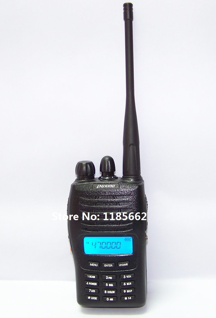 Puxing PX-777 uhf 400-470 Mhz interphone, Puxing px777 128 channels transceiver, best for ham, hotel, commercial, security use(China (Mainland))
