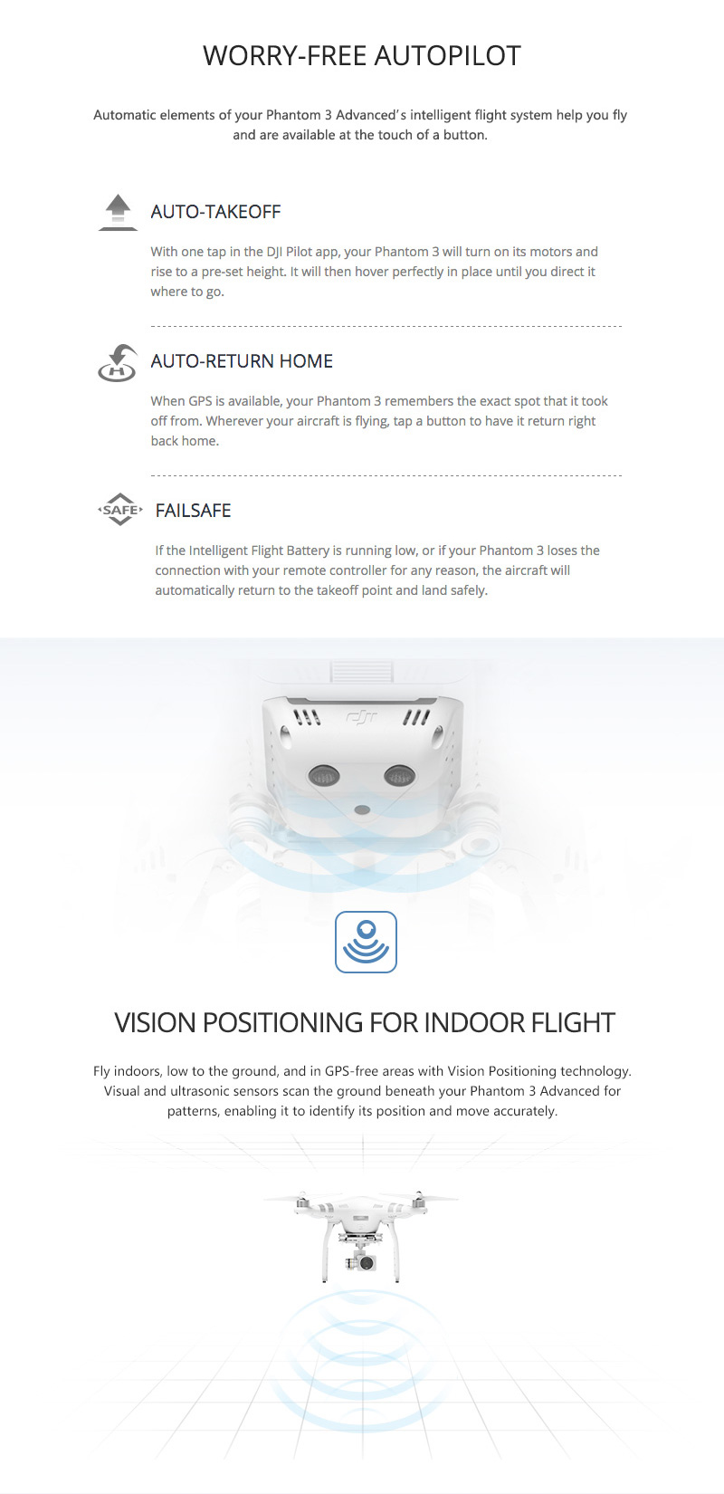 100% Original DJI Phantom 3 Advanced FPV camera drone with 1080p Camera rc helicopter with Brushless Gimble GPS system