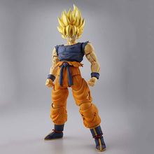 Buy Dragon Ball Z MG Figure Rise Super Saiyan Son Goku Model Kit (1/8) Japan Anime Collectible Mascot Toys 100% Original for $57.00 in AliExpress store