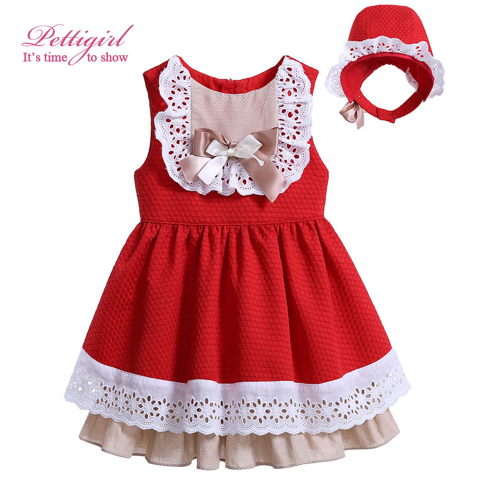 Pettigirl Toddler Girl Dress with Headband for Baby Girls