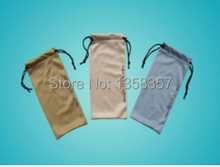 Buy 100pcs/lot CBRL 9*17cm glasses drawstring bags for sunglasses/eyewear/wallet,Various colors,size can be customized,wholesale for $55.00 in AliExpress store