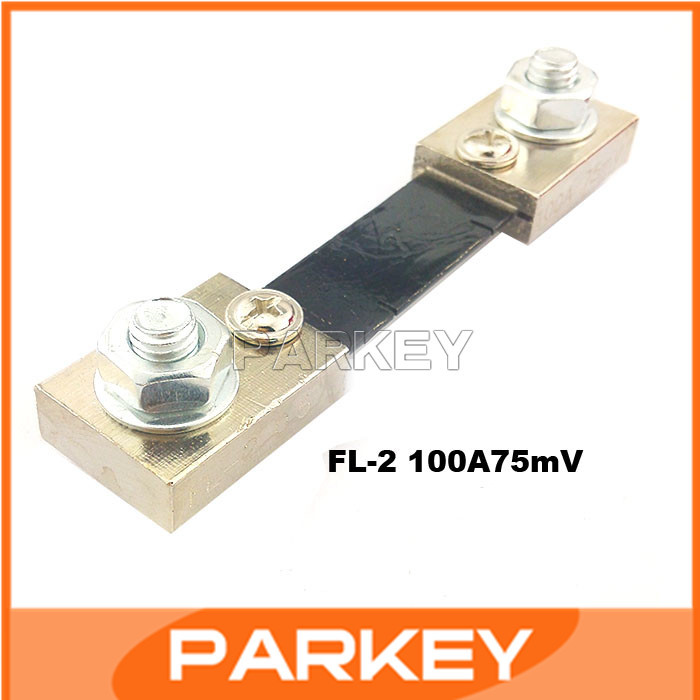 20pcs  FL-2 Shunt 100A Ammeter Shunt (100A/75mV) Ammeter Shunt  #200945
