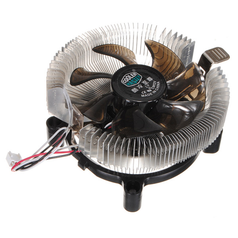 12V Silent Cooling Fan CPU Heatsink Falcon Bench Cooler Master CPU Computer Fan Cpu Fan Computer Component(China (Mainland))