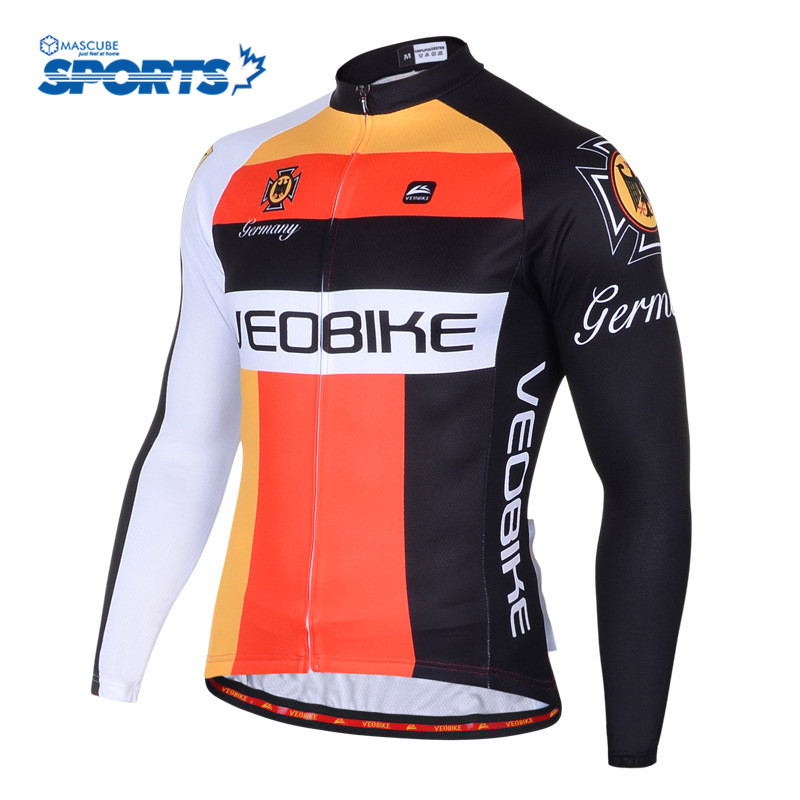Outdoor Sport Clothing Autumn Sweat Breathable Cycling Clothes ropa ciclismo hombre Long-Sleeved Bicycle Sweat Unisex Jersey(China (Mainland))