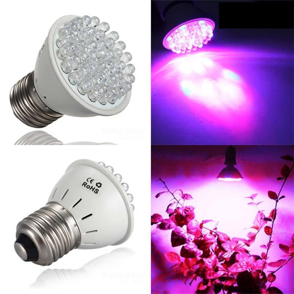Grow light for houseplants - Sale E27 38leds Hydroponic Garden Supplies Indoor Veg Flower Plant Grow Light 85 265v 2w