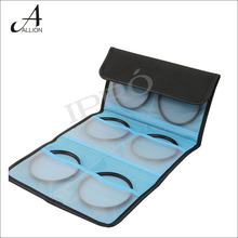 Camera accessories 6 Pockect Lens Filter Bag Wallet Case for 52mm 55mm 58mm 62mm 67mm 72mm 77mm Holder Pouch UV CPL FLD