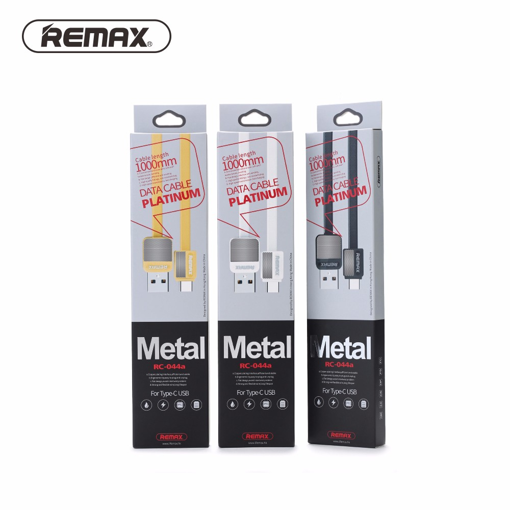 Original Remax TYPE C USB Cable for Huawei P9 Nova Meizu Pro 6 Letv 1 2 Max Type-c Fast Charging Cable Data Transfer Wire