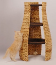 natural banana leaf cat scratching tree cat tree cat toy pet product cat house wholesale(China (Mainland))