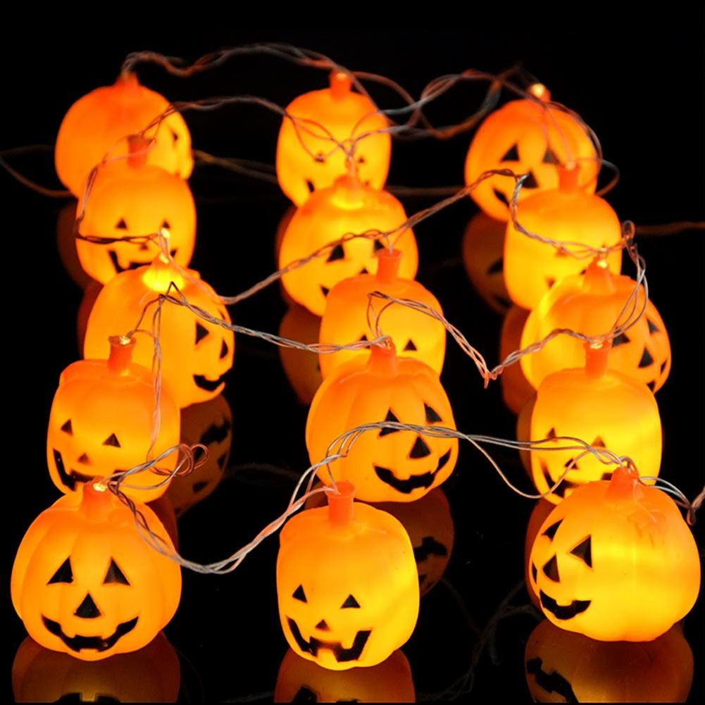 2016 Pumpkin Light Halloween Decoration New Convenient Lantern Lamp Outdoor Party Supplies Christmas Lights Outdoor natal(China (Mainland))
