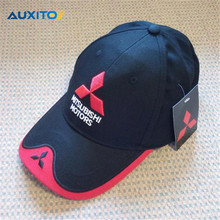 Buy Mitsubishi Lancer 9 10 Asx Outlander Pajero Sport Carisma Galant L200 Grandis Eclipse Accessories Hat Car Logo Baseball Cap for $7.67 in AliExpress store
