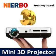 Mini 3D Projector 1080P Full HD DLP Smart Android Wireless Projectors Multimedia Video LED Pocket Bluetooth Projector HDMI USB(China (Mainland))