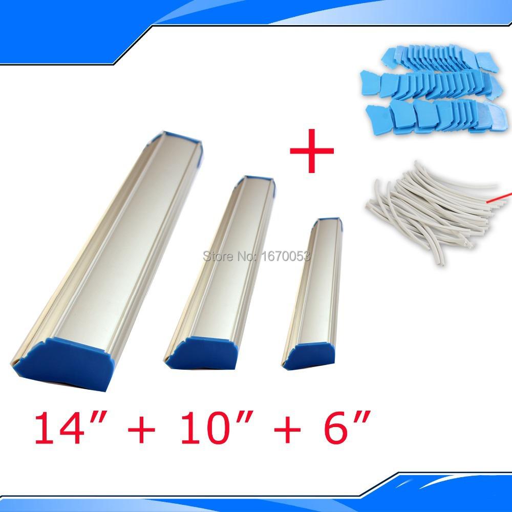 Free Shipping Manual Screen Printing Emulsion Scoop Coater Screen Press Make Plate Aluminium Alloy Coater(China (Mainland))