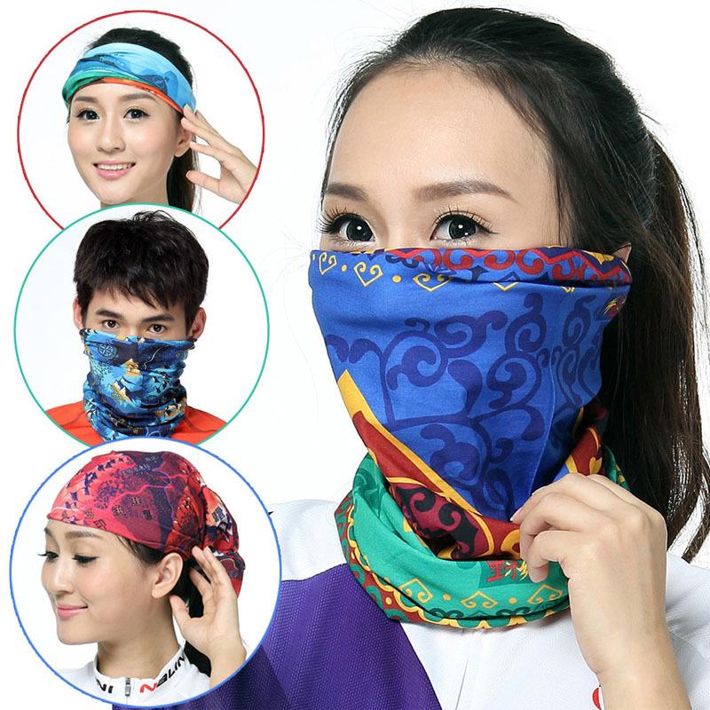 Environmental Microfiber Cotton and Polyester Bandana Fabric Multifunctional Seamless Wear Headband Motorcycle Magic Scarf(China (Mainland))