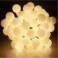 10M 50LED small LED lamp lights game ball for christmas wedding party garland exterior decoration holiday