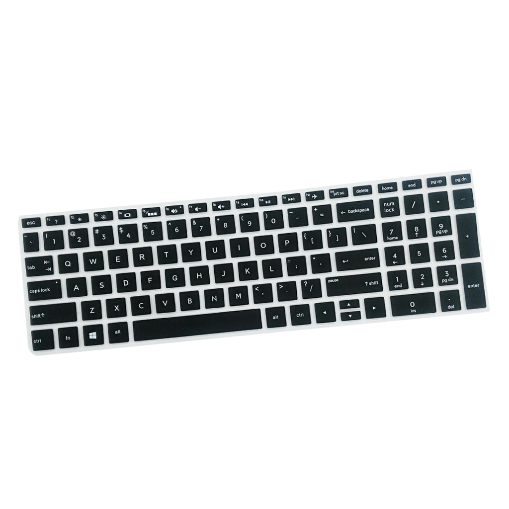 2019 NEW High invisible Keyboard Protector Skin Cover For HP 15.6 inch BF Laptop PC Notebook Laptop Super soft Silicone