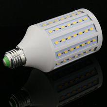 5pcs/lot Discount high light LED Corn Bulb E27 E26 E14 B22 SMD 5730/5630 102LED 30W AC165V-265V Warm/White led light lamp(China (Mainland))