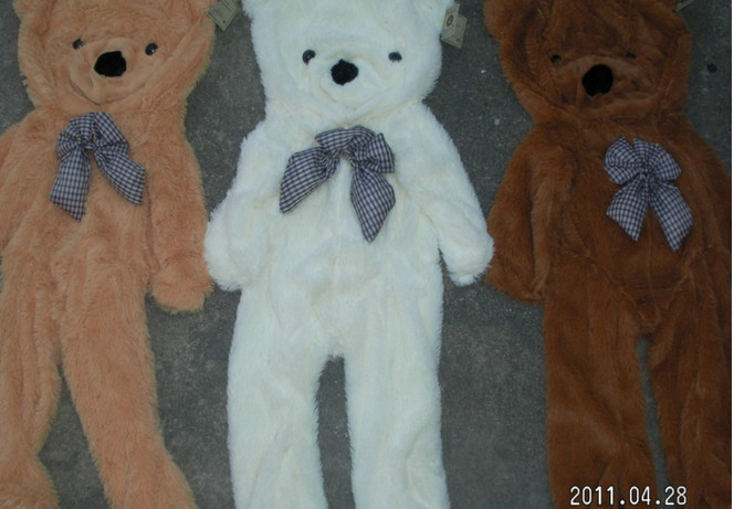 300CM stuffed toy teddy bear skin hull 3 color options free shipping(China (Mainland))