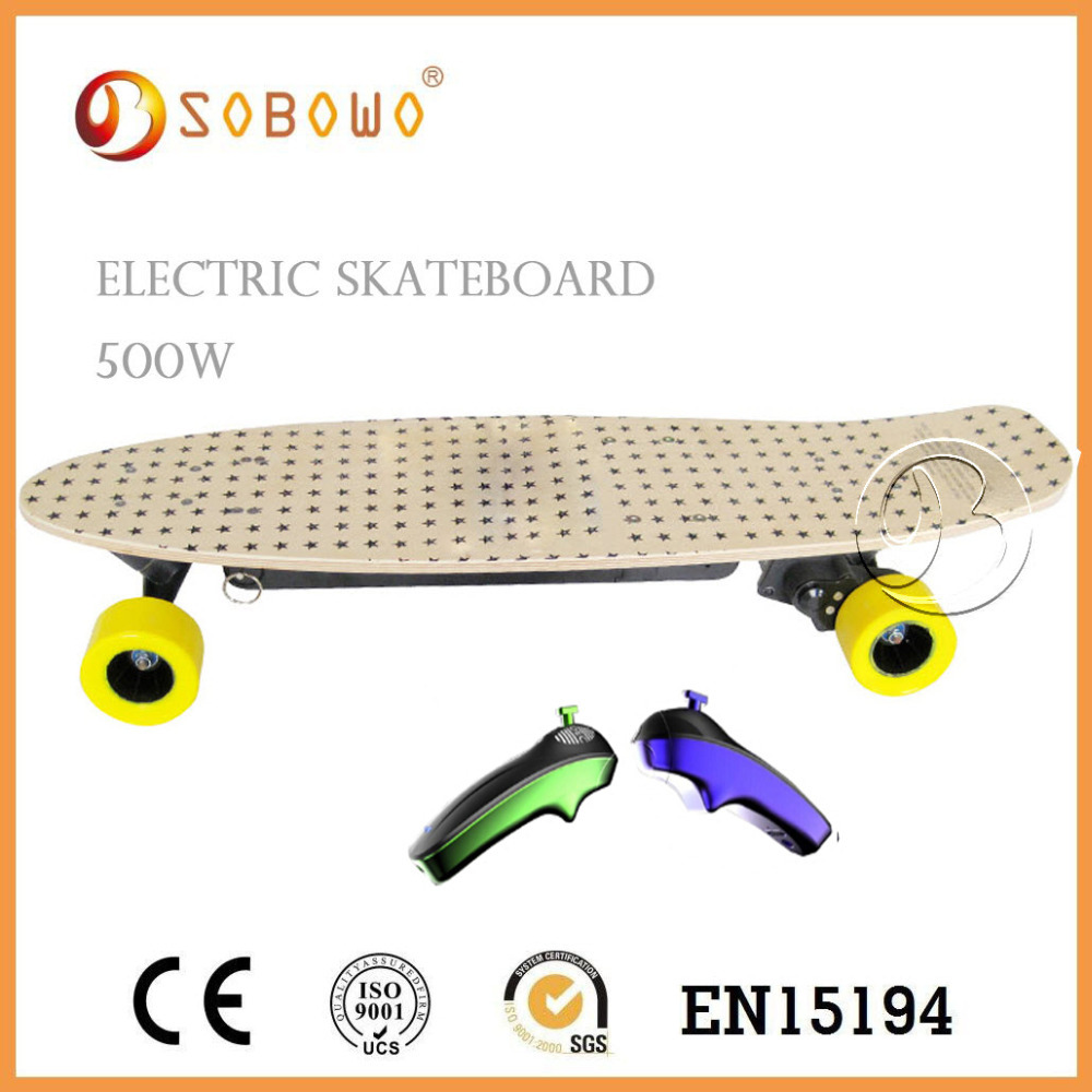 Powerful electric skateboard wireless remote controller electric skate Board in china(China (Mainland))