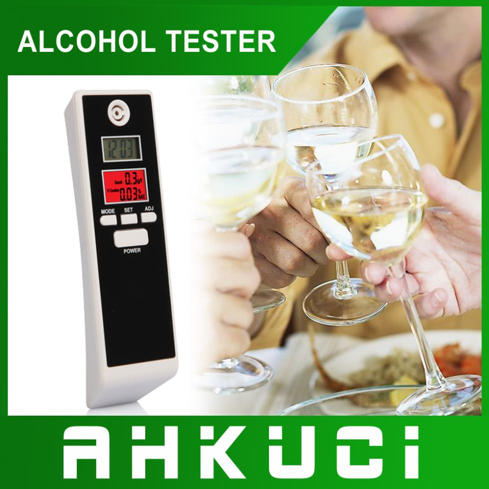 4pcs /pack Dual Digital breath alcohol tester with clock funtion(China (Mainland))