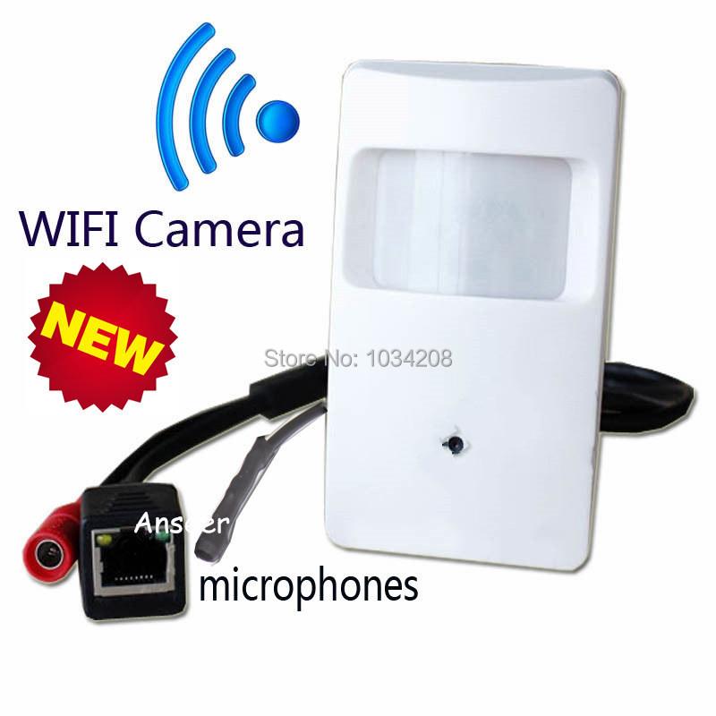 Cheap Onvif 720P IP Hidden WIFI Covert Camera Motion Detector HD PIR STYLE Wireless IP Camera Mini Ip Camera Wifi P2P Security()