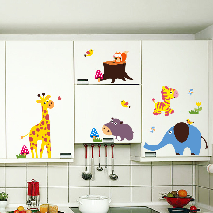 Decor Children 39 S Bedroom Wall Stickers Removable Wall Decal In Wall