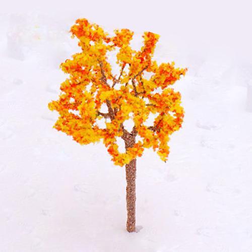 Orange Tree Flower Tree Train Orange Flowers